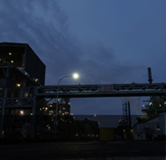 NIGHT VIEW AT PLANT